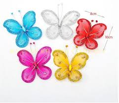 Butterfly Decorations For Christmas Tree by Butterfly Christmas Ornaments Promotion Shop For Promotional