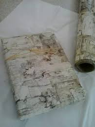 birch wrapping paper cracked paint on birch wood grain rustic by happykit 7 00