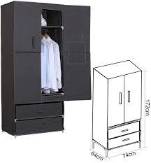 garderobenschrank design woltu stoff textil kleiderschrank stoffkleiderschrank