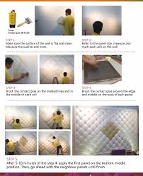 quick decor idea 3d self stick leather mosaic easy diy hexagon