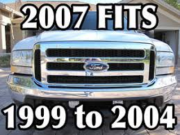 ford truck grilles superduty grill conversion ebay