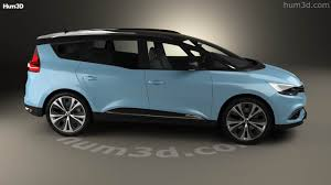 renault espace 2017 360 view of renault grand scenic dynamique s nav 2017 3d model
