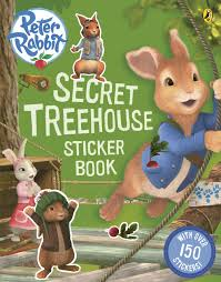 rabbit treehouse rabbit animation secret treehouse sticker activity book