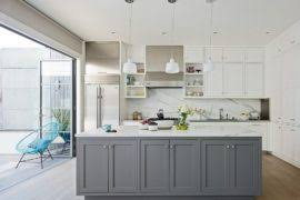white and gray kitchen ideas 11 trendy ideas that bring gray and yellow to the kitchen