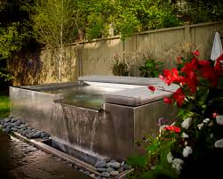 Zen Style Home Interior Design by Interior Outdoor Jacuzzi Ideas With Natural Green View Zen