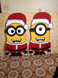 christmas minions done by markeysha and keith ross follow me on