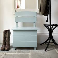 Rustic Wooden Bench With Storage Furniture Small Blue Stained Wood Foyer Bench With Storage