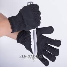 schnittschutzhandschuhe küche neue 1 para schnittschutzhandschuhe schwarz weiß anti schneiden