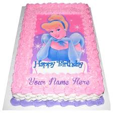 cinderella birthday cake princess birthday cakes on name wishes pictures