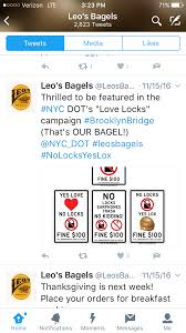 thanksgiving text messages new york yes lox no locks warns brooklyn bridge sign