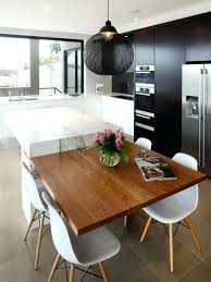 kitchen island with table seating island kitchen table folrana