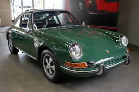 irish green porsche 1969 porsche 912 my classic garage