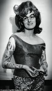 vintage photographs reveal tattoo mad men and women with inkings