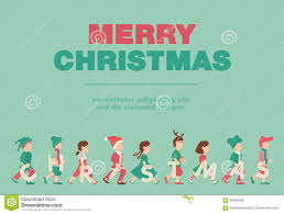 poster flat banner or background for kid u0027s merry christmas party