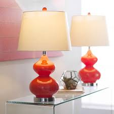 Upright Table Lamps Glass Lamps You U0027ll Love Wayfair