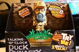 amazon com duck dynasty uncle si u0027s talking clock home u0026 kitchen