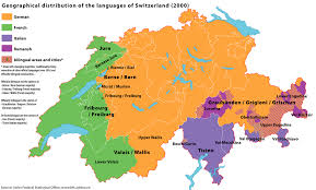 belgium language map swiss
