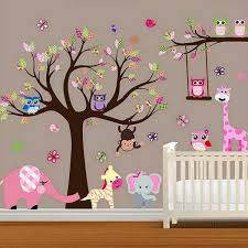 Monkey Nursery Wall Decals Bedroom Decoration Baby Room Decals Monkey Baby Room Wall Decals