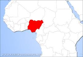 map of nigeria africa where is nigeria located on the map