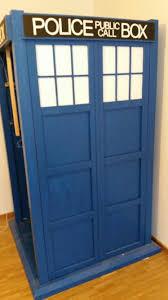 Schlafzimmerschrank Unbehandelt Kleiderschrank Tardis Bekannt Aus Doctor Who Selbstgebaut 1 24