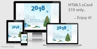 electronic new year cards merry christmas happy new year card v1 by odiusfly codecanyon