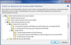 activer le bureau à distance windows 7 administrer l active directory depuis un compte utilisateur carbone 14