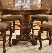 Height Of A Dining Room Table Creditrestoreus - Tropical dining room sets counter height
