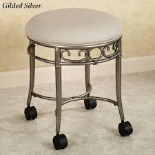 ideas bathroom vanity stools intended for striking vanity bench