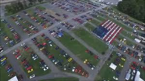 corvettes of carlisle 20150828 carlisle pennsylvania 2 5 minute aerial of