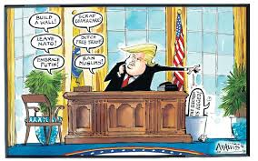 14 of the best cartoons about donald trump u0027s first month in office