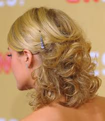 short hair layered and curls up in back what to do with the sides classy pinned back hairstyles for prom half updo prom hair and updo