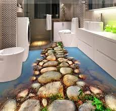 How To Make A Small Bathroom Look Bigger Brilliant 3d Floor Designs To Make A Small Bathroom Look Bigger