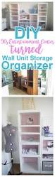 wall unit diy craft room wall storage organizer unit furniture makeover