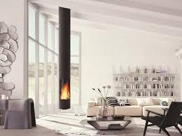 Wohnzimmer Ideen Holz Holz Zentraler Hängender Kamin Slimfocus By Focus Furniture