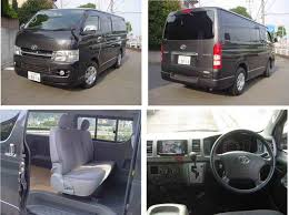 toyota hiace gl technical details history photos on better parts ltd
