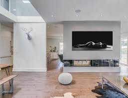 Home Garden Interior Design by White Interiors In This Toronto Home Garden Void House By Alva