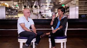 michael symon and kristen kish how to make scrambled eggs food