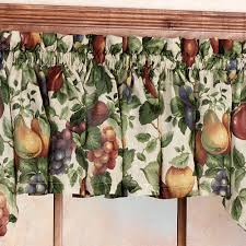 Kitchen Curtains With Grapes by Sonoma Fruit Tier Window Treatments