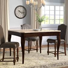 darby home co swenson counter height dining table u0026 reviews wayfair