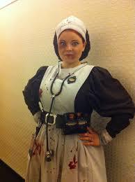 victorian asylum nurse costume made for 2011 dragon con my