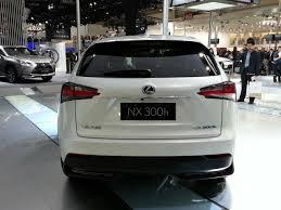 lexus crossover 2014 lexus nx at auto china 2014 rear indian autos blog