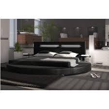 chambre avec lit rond lit rond lumière 180 200 cm avec sommier offert et livraison offerte