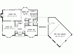 garage house floor plans angled garage family room house plans home floor a and