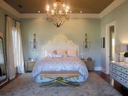Chandelier In Master Bedroom Romantic Bedroom Lighting Hgtv
