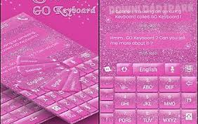 keyboard themes for android pink glitter keyboard themes android app free in apk