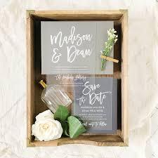vinyl wedding invitations vendor spotlight beautiful wedding invitation suites from basic