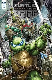 teenage mutant ninja turtles universe 5 u2013 idw publishing