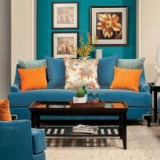 Blue Living Room Furniture Sets Vincenzo Living Room Set Peacock Blue Living Room Sets