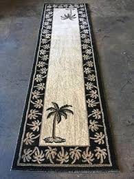 Palm Tree Runner Rug Lavish Home Palm Trees Green Indoor Outdoor Area Rug Rug Size