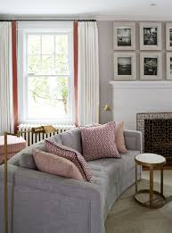 Curved Sofa Designs by 19 Decorating A Long Narrow Living Room Ideas Home Improvement